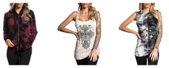 Affliction Cloting online store